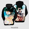 Moletom Midoriya Boku No Hero Estampa Total Frente e Costas - comprar online