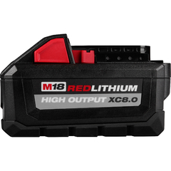 Bateria De Litio 18v 8,0 Ah Milwaukee M18 Red Lithium Xc8.0 - comprar online