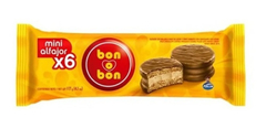 Mini Alfajor Bon O Bon Pack X 6 U - Lollipop
