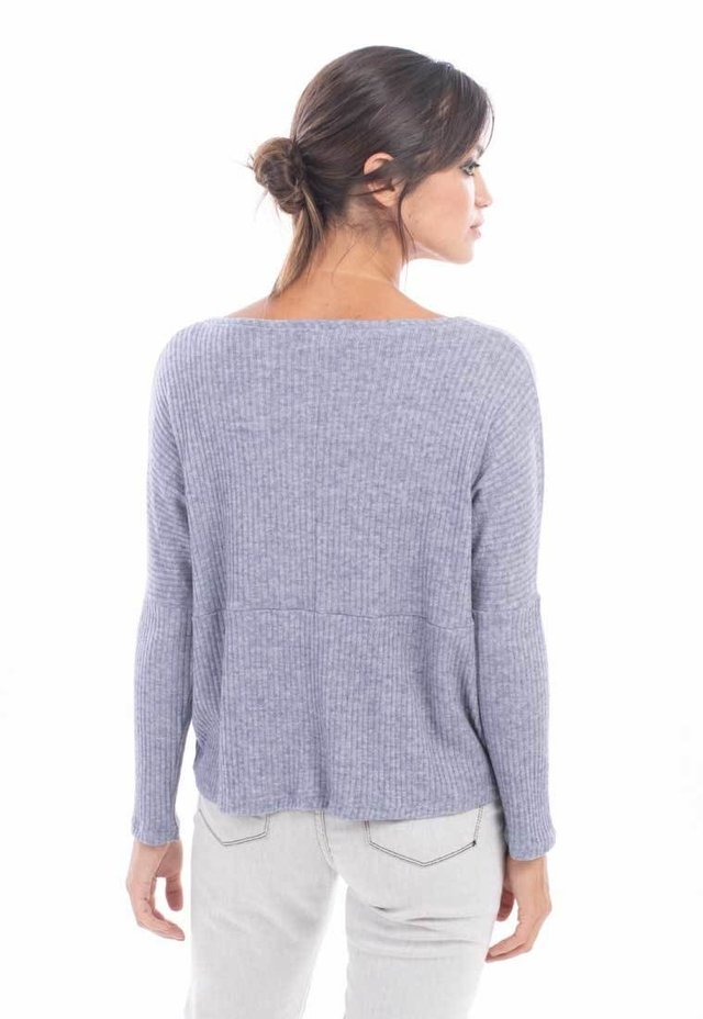 Mia Loreto sweater denim blue Ming