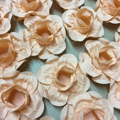 Fabric Flower Wrappers for Wedding Sweets Cecilia (30 pieces) - Celebrity Forminhas de Doces Para Casamento