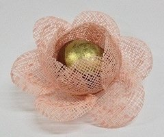 Image of Fabric Flower Wrapper for Sweets Bloomed Camellia (30 pieces)