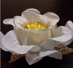Fabric Flower Wrappers for Wedding Sweets Cecilia (30 pieces) - online store