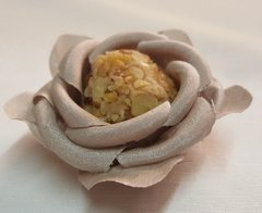 Fabric Flower Wrappers for Sweets Rounded Camellia (100 pieces) - online store