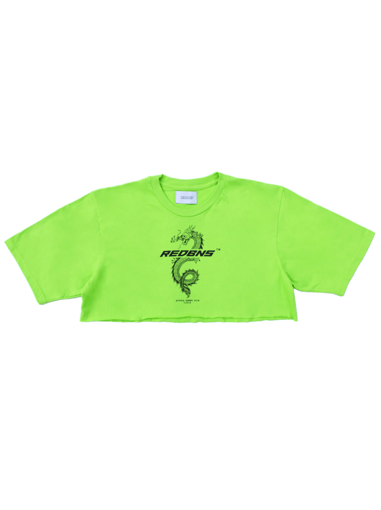 CHINESE GANG CROPPED TSHIRT - comprar online