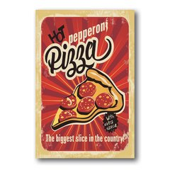 PLACA PIZZA PEPPERONI - comprar online