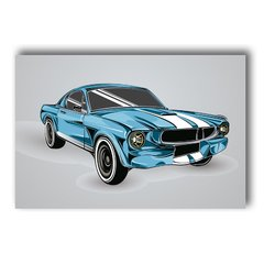 PLACA CAR BLUE - comprar online