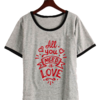 Remera Dama Ringer Beatles All You Need