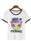 Remera Dama Ringer Queen Of Psy