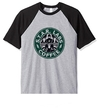 Remera Unisex Ranglan Flash Coffee