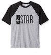Remera Unisex Ranglan Flash Star Laboratories