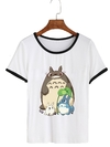 Remera Dama Ringer Ghibli  Totoro  And Friends