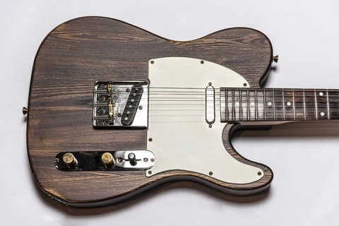 Guitarra Slick Guitars SL51 Brown Woodgrain Telecaster - comprar online