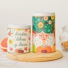 SET DE LATAS MATERAS GIRL POWER - comprar online