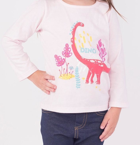 REMERA DINO FOREST