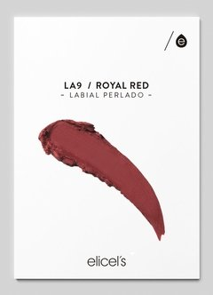 LABIAL COLOR RICH - ROYAL RED - LA9 - comprar online