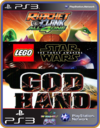 PS3 PACOTE IW 10 MÍDIA DIGITAL Ratchet God Hand Lego
