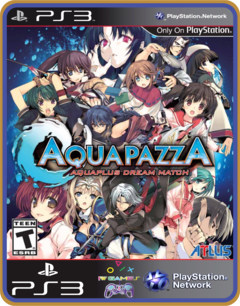 Ps3 Aquapazza Original Mídia Digital