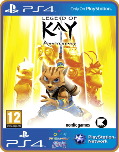 PS4 Legend of Kay Anniversary Psn Original 1 Mídia Digital