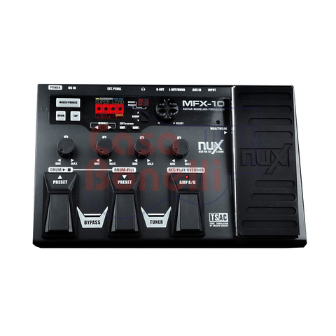 Pedal Multiefecto Nux MFX 10