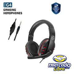 Auriculares Gamer 5.1 Streamers Crush Sound G4