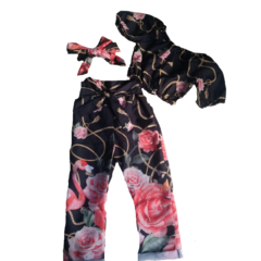CONJUNTO PANTACOURT ESTAMPADO MINI DIVA