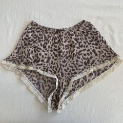 Short animal print - Marimba