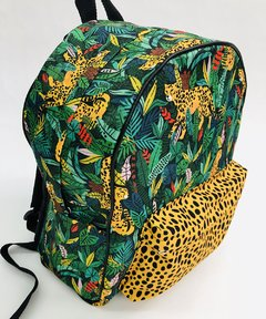 MOCHILA SANDY PRINT VERDE on internet