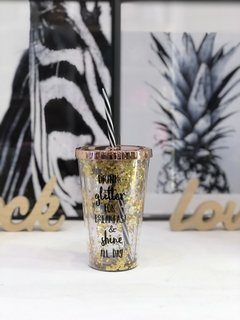 Vaso Glitter For Breakfast - comprar online