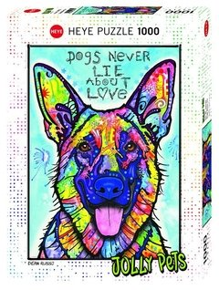 Dogs Never Lie, 1000p - comprar online
