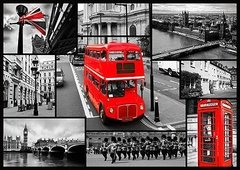 London Collage, 1000p