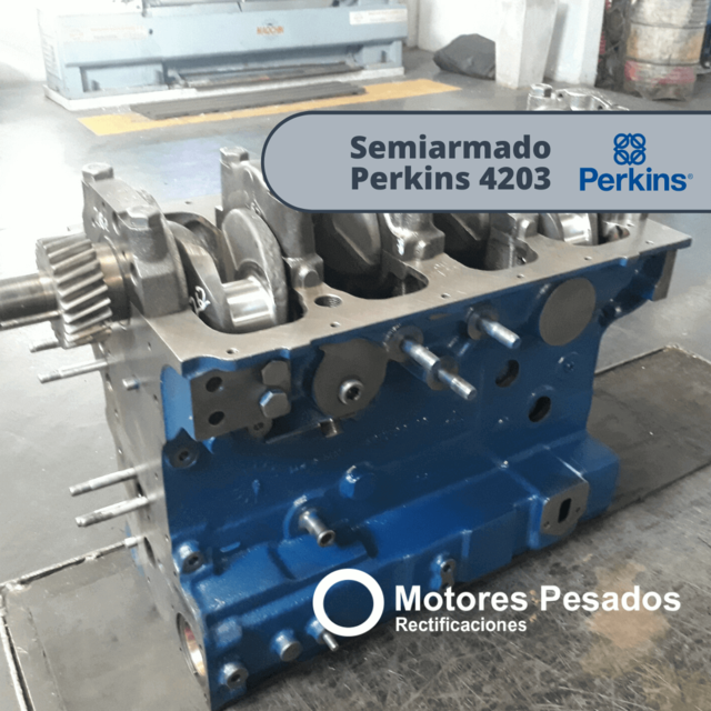 Semiarmado Perkins 4203 | Rectificado