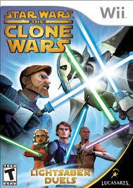 Star Wars: The Clone Wars: Lightsaber Duels - Wii
