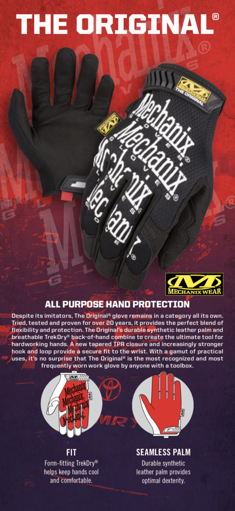 Guantes Originales Mechanix Tamaño XL en internet