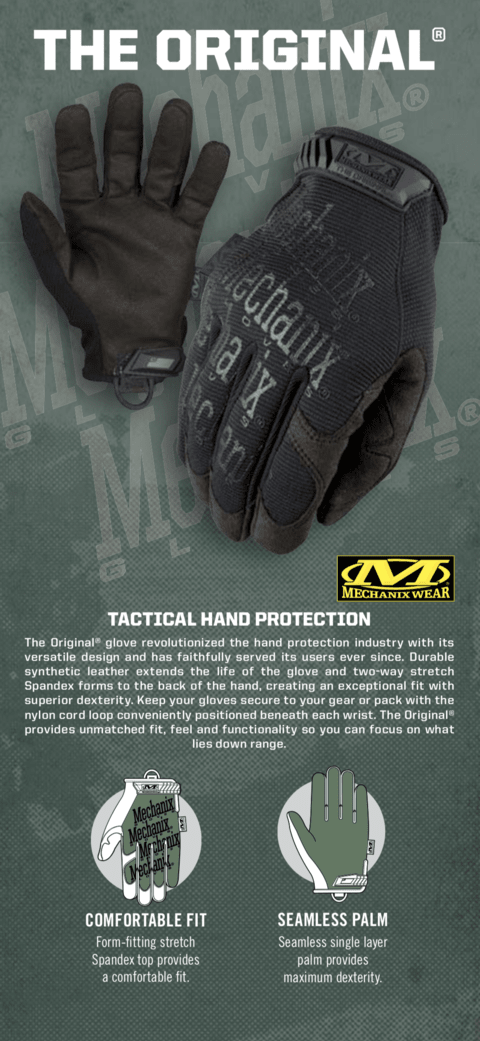 GUANTES ORIGINALES TACTICOS MULTICAM MECHANIX TAMAÑO XL en internet