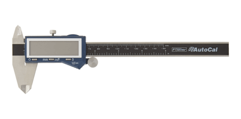 CALIBRE DIGITAL 150mm SUPER NUMEROS  AutoCal FOWLER