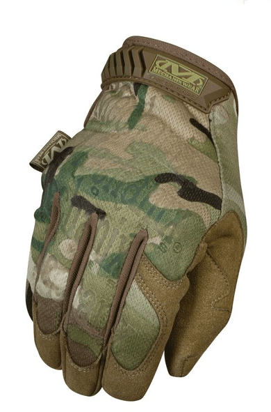 GUANTES ORIGINALES TACTICOS MULTICAM MECHANIX TAMAÑO XL