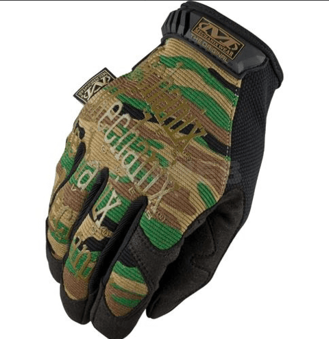 GUANTES ORIGINALES TACTICOS WOODLAND MECHANIX TAMAÑO M
