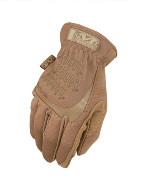 GUANTES TACTICOS FASTFIT COYOTE MECHANIX TAMAÑO M