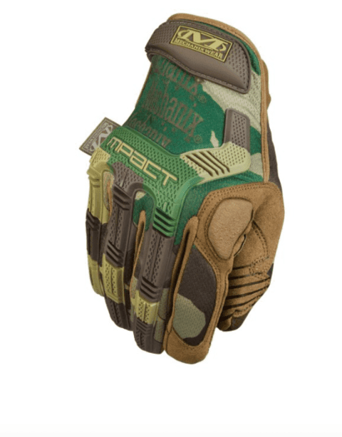 GUANTES TACTICOS M-PACT WOODLAND MECHANIX TAMAÑO L
