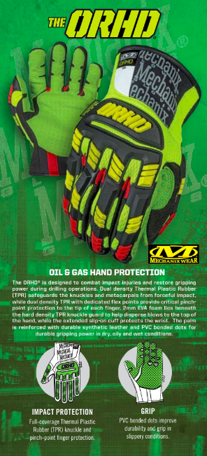 Guantes Originales Orhd P/gas -petroleo Mechanix Tamaño L en internet