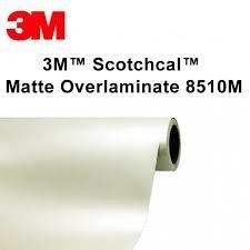 3M(TM) Scotchcal(TM) Matte Overlaminate 8510M