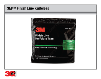 3M(TM) Finish Line Knifeless