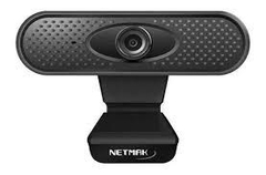 Webcam Netmak Microfono Video Hd 1280x720p Tripode NM-WEB02