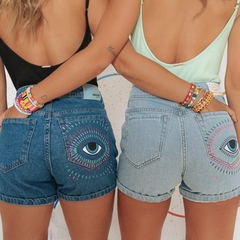 shorts mom jeans eyes - comprar online