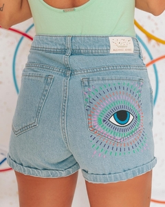 shorts mom jeans eyes - dolshop