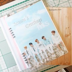 Caderno BTS Seasons