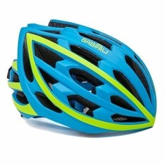 CAPACETE BABAALI CICLISMO COM AUDIO BLUETOOTH  - AZUL