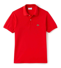 Lacoste Chomba Rojo Hombre Classic Fit L1212