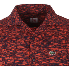 Lacoste Camisa Hombre Manga Corta Rayada Ch5351 - comprar online